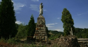 Pomnik nagrobny hrabiny Steckiej w Paleśnicy