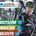 DARE2b MTB Maraton 2016 w Zakliczynie