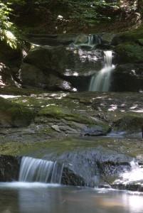 Wodospad w Rudzie Kameralnej