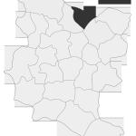 Sołectwo Roztoka, mapa położenia na terenie Gminy Zakliczyn