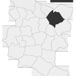 Sołectwo Lusławice, mapa położenia na terenie Gminy Zakliczyn