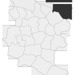 Sołectwo Wróblowice, mapa położenia na terenie Gminy Zakliczyn