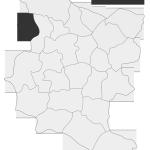 Sołectwo Faliszewice, mapa położenia na terenie Gminy Zakliczyn