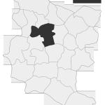 Sołectwo Wesołów, mapa położenia na terenie Gminy Zakliczyn