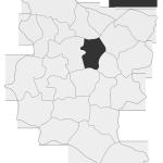 Sołectwo Zakliczyn, mapa położenia na terenie Gminy Zakliczyn