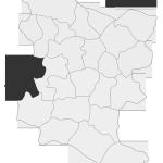 Sołectwo Filipowice, mapa położenia na terenie Gminy Zakliczyn