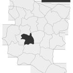 Sołectwo Wola Stróska, mapa położenia na terenie Gminy Zakliczyn