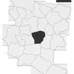 Sołectwo Zdonia, mapa położenia na terenie Gminy Zakliczyn