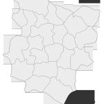 Sołectwo Jamna, mapa położenia na terenie Gminy Zakliczyn