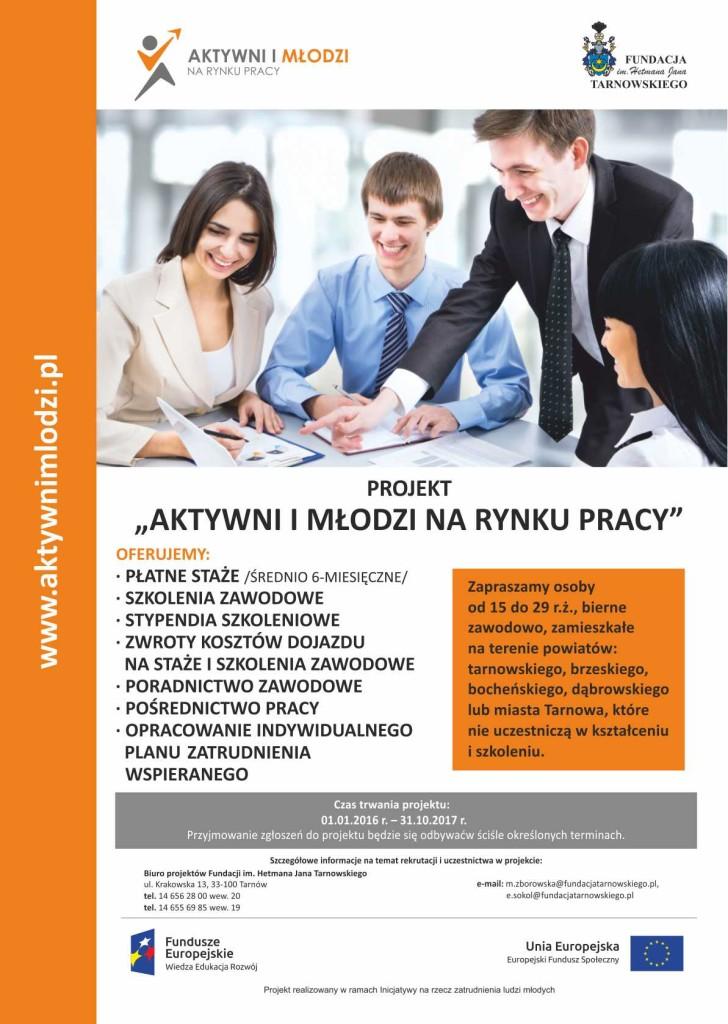 20160128_fundacjatarnowskiego_AktywacjaMłodych_2016_plakat_p1