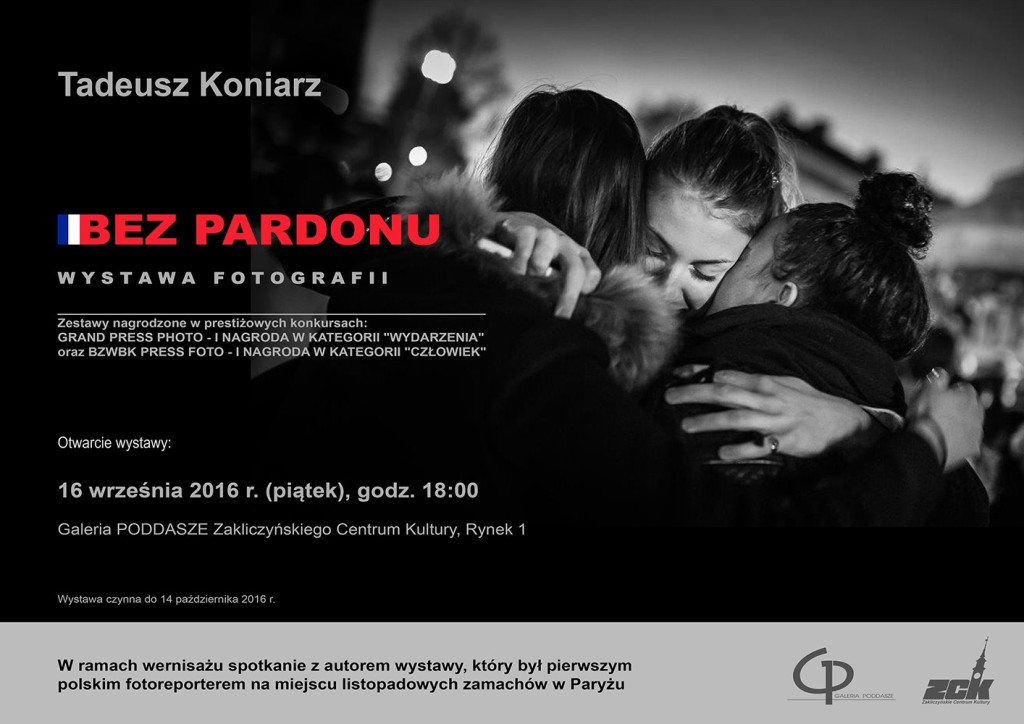 Bez pardonu, wystawa fotografii Tadeusza Koniarza