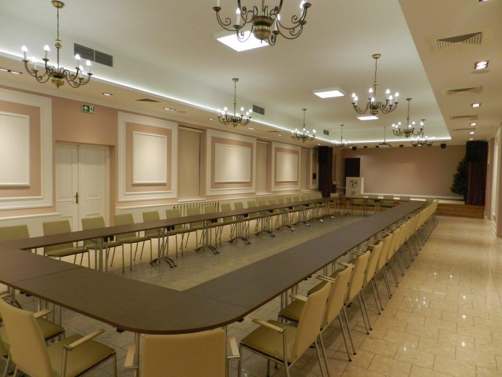 Sala wielofunkcyjna w budynku Ratusza w Zakliczynie