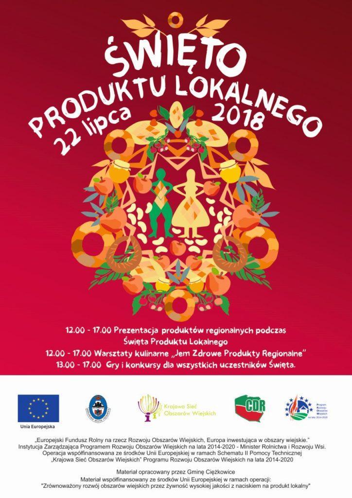 Święto Produktu Lokalnego, plakat promocyjny imprezy