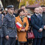 Prezydent RP Andrzej Duda w Zakliczynie, 4 listopada 2018 r.