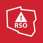 logotyp RSO (Regionalny System Ostrzegania)