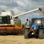 maszyny rolnicze podczas żniw