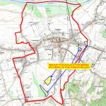 Granice obszarów objętych ponownym (III-cim) wyłożeniem projektu
