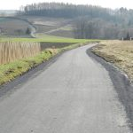 asfaltowanie dróg gminnych - Dzierżaniny