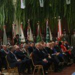 Uczestnicy obchodów 146. rocznicy urodzin Wincentego Witosa w Wierzchosławicach
