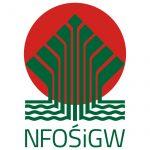 logotyp z napisem NFOŚiGW (Narodowy Fundusz Ochrony Środowiska i Gospodarki Wodnej)