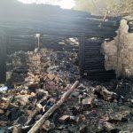 pożaru domu mieszkalnego w Borowej